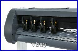 1350mm/53 Plotter Cutting Machine Vinyl Plotter Cutter withSoftware + Supplies