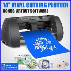 14 375MM Vinyl Cutting PLotter Software Artcut 3 Blades Cutter GOOD PRESTIGE
