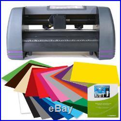 14 Craft Vinyl Cutter MH Bundle Sign Making Kit withDesign Cut Software