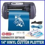 14 VINYL CUTTER MACHINE WithSOFTWARE VINLY SIGN PLOTTER GREAT STARTER BUNDLE KIT