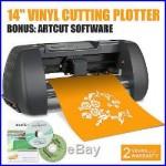14 Vinyl Cutter Sign Cutting Plotter 375mm Craft Cut 3 Blades Artcut Software