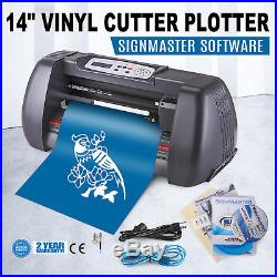 14 VINYL CUTTER SIGN PLOTTER CUTTING With SIGNMASTER CUT BASIC SOFTWARE 3 BLADES