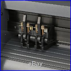 14 VINYL CUTTING PLOTTER SIGN CUTTER With TABLE T-SHIRT ARTCUT SOFTWARE NEWEST