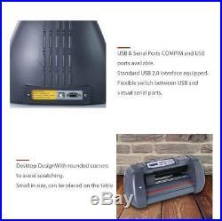 14 Vinyl Cutter / Plotter, Sign Cutting Machine withSoftware+3 Blades&LCD screen