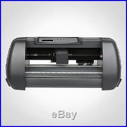 14 Vinyl Cutter Sign Cutting Plotter 375mm Usb Port 3 Blades Artcut Software
