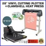 15 Heat Press Transfer Kit 28 Vinyl Cutting Plotter Software Sticker Cutter
