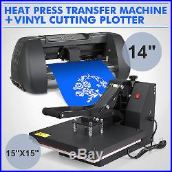 15 215 15 Heat Press Transfer 14 Vinyl Cutting Plotter