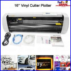 16 Vinyl Cutter Plotter Sign Cutting Machine Sign Maker DIY Decoration+Software