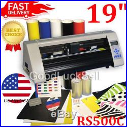 19 RS500C Desktop Starter Pkg Vinyl Cutter Software Vinly Sign Plotter US Stock