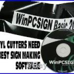 2018 Brand new WinPCSIGN Software 500 Vinyl cutters drivers Vectorisation