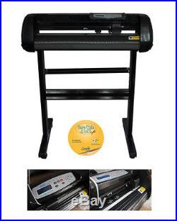 24 Cutter Plotter Craftedge Software 10ft T-shirt Heat Transfer Vinyl FREE