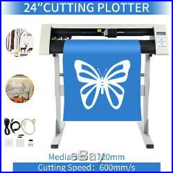24 Cutter Vinyl Cutter / Plotter, Sign Cutting Machine withSoftware + Supplies