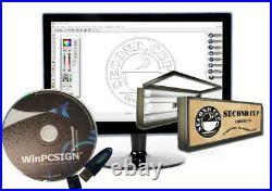 24 GCC EXPERT II Vinyl Cutter + WINPCSIGN PRO SOFTWARE +EXTRA