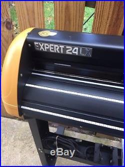 24 GCC Expert 24 LX Vinyl Cutter Plotter & Software + metal Stand