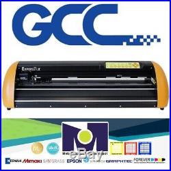24 GCC Expert LX 24 Vinyl Cutter Plotter+Stand FREE Software + FREE Shipping