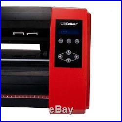 24-Inch Vinyl Cutter Design Contour Software Adjustment Force Speed Art Craft