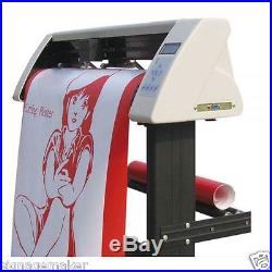 24 Redsail Sign Vinyl Cutter Plotter with Contour Cut Function+Stand+Software