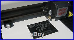 24 VINYL CUTTER BUNDLE for sign making PRO 2014 software heat press material