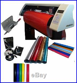 24 VINYL CUTTER CONTOUR CUT for sign making business PRO 2014 complete software