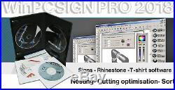 24 Vinyl Cutter Gcc Expert II + Winpcsign Pro 2018 Usb Software Great Bundle