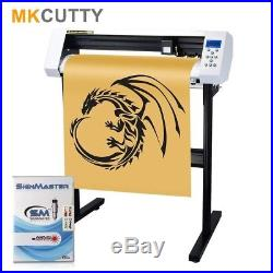 27 Vinyl Cutter Machine withSoftware Vinly Sign Plotter With Design + Cut