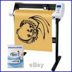 27 Vinyl Cutter Sign Cutting Plotter Machine & SignMaster (Design+Cut) Software