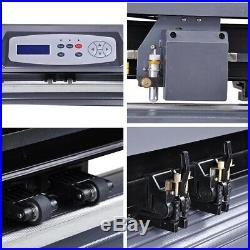 28 720mm Vinyl Cutter Sticker Plotter Sign Maker Craft Cutting Cut with Software