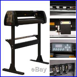 28 Cutter Vinyl Cutter Plotter Sign Cutting Machine with Software & Supplies