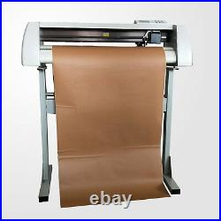 28 Cutting Plotter/Vinyl Cutter GJD-800 + Artcut 2009 Software+ 2 rolls vinyl