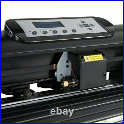 28 Inch 720mm Paper Feed Vinyl Plotter Cutter Machine With Stand, Software US
