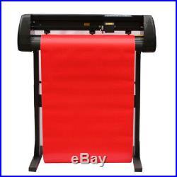 28 Inch Cutter Vinyl Cutter Plotter Sign Cutting Machine With Software Supplies
