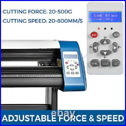 28 Inch Vinyl Cutter Sign Maker + Free Design/Cut Software Automatic positioning