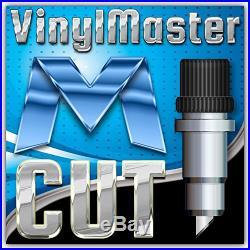 28 TITAN 2 Vinyl Cutter/Plotter W Stand Basket & Design Cut Software PARTY