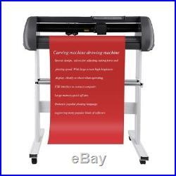 28 US Vinyl Cutter / Plotter, Sign Cutting Machine withSoftware + Supplies USB