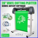 28 VINYL CUTTER CUTTING PLOTTER With ARTCUT SOFTWARE STICKER DESIGN/CUT