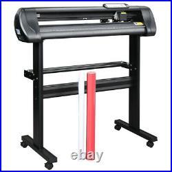 28 Vinyl Cutter 870mm Plotter Machine Signmaster Software Sign Making LCD&Stand