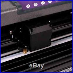 28'' Vinyl Cutter Design Cut Software Sign Cutting Plotter Stand Artcut Kit NEW