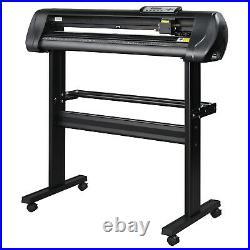 28 Vinyl Cutter Machine 720mm Sign Cutting Plotter Signmaster Software 3 Blades