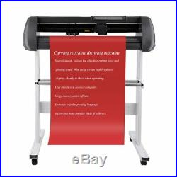 28 Vinyl Cutter Machine Vinly Sign Cutting Plotter Starter Bundle Kit Software