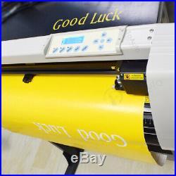 28 Vinyl Cutter Plotter, Decals Sign Cutting Machine with Software Sticker Making