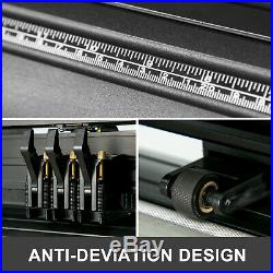 28 Vinyl Cutter Plotter Sign Cutting Machine 3 Blades Software + Supplies