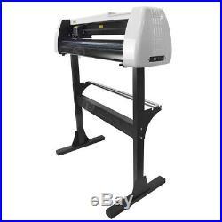 28 Vinyl Cutter Plotter Sign Cutting Machine with Artcut Software & HTV Supplies