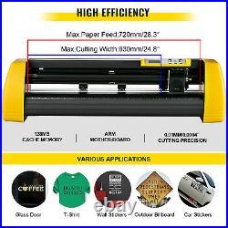 28 Vinyl Cutter/Plotter Sign Cutting Machine withSoftware 3 Blades LCD Screen