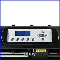 28 Vinyl Cutter / Plotter, Sign Cutting Machine withSoftware+6 Blade & LCD Screen