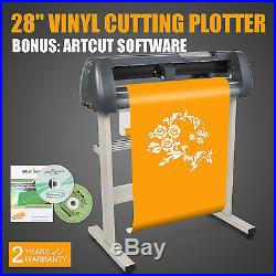 28 Vinyl Cutter Sign Cutting Plotter withVinylMaster Design Cut Software 3 Blade