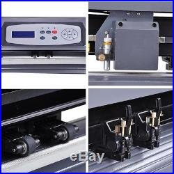 28 Vinyl Sign Cutter Plotter with Signmaster Cut Basic Software 3 Blades Professi