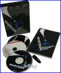 30 Vinyl cutter & NEW WinPCSIGN software PRO 2014 + HEAT VINYL from SISER