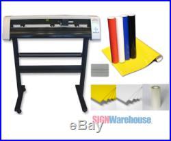 \31 Vinyl Cutter Machine withSoftware Vinly Sign Plotter Great Starter Bundl