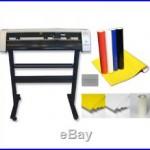 31 Vinyl Cutter Machine withSoftware Vinly Sign Plotter Great Starter Bundle Kit1