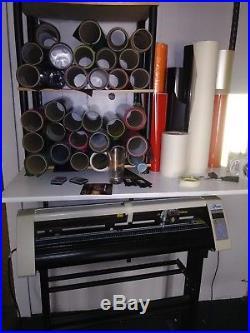 31 Vinyl Cutter Machine withSoftware Vinly and vinyl